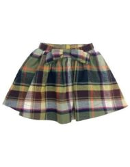 Anthem of the Ants Plaid Library Skirt
