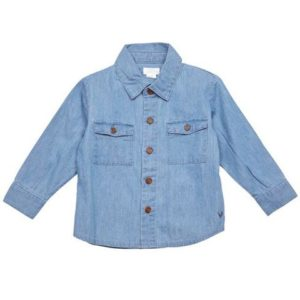 Blue Rooster Chambray Parker Shirt